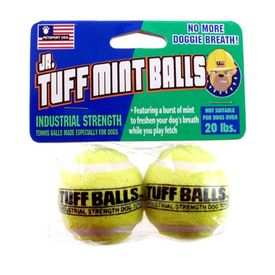 Petsport USA Tuff Mint Balls Dog Toy, green
