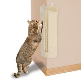 Trixie Scratching Board for Corners Cat Toy, brown