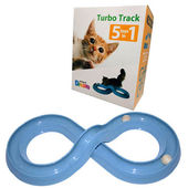Kitten Dream Cat 5 in 1 Turbo Track Interactive Toy, blue