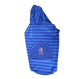Zorba Designer Striped Hoodie for Medium Dogs, blue with disney print, 22 inch