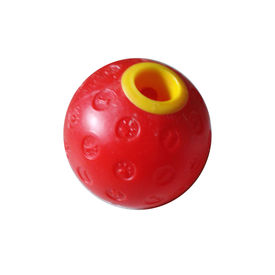 Imported Plastic Fun Ball Dog Toy, 4 inch, red