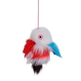 Trixie Germany Fish on an Elastic Band Cat Toy, 14 cms