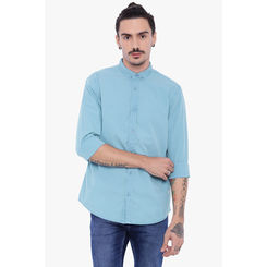 Breakbounce Cary Men's Casual Slim Fit Shirt, s,  blue