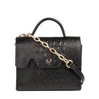 MB TRACEY, baby croco,  black