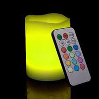 Multicolour LED Candle with Remote