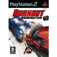 MILESTONE GAME CD PS2 BURNOUT DOMINATOR, ps2