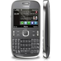 NOKIA MOBILE ASHA 302 DARK GRY