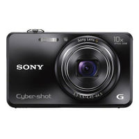 SONY STILL CAMERA DSCWX150 BLACK