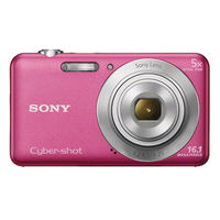 SONY STILL CAMERA DSCW710 PINK