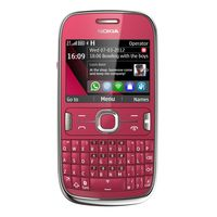 NOKIA MOBILE ASHA 302 PLUM RED