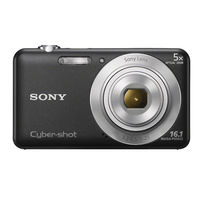 SONY STILL CAMERA DSCW710 BLACK