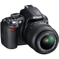 NIKON DSLR D3100 WITH (18-55) VR KIT, black