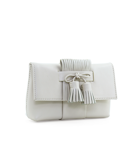 RM Mini Clutch, white