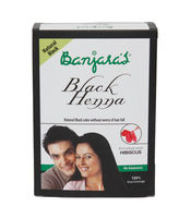 BANJARAS BLACK HENNA HIBISCUS POWDER 50GM