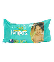 PAMPERS DIAPERS XL 5S