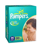 PAMPERS DIAPERS (M) 20 S