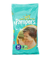 PAMPERS MMEDIUM DIAPERS 2S