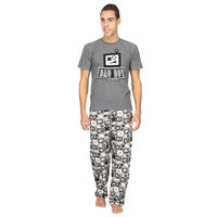Bad Boy Robot-PJ Set, m, grey
