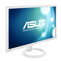 Asus VX238H-W LED Backlit LCD Monitor,  white, 23