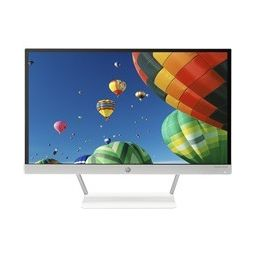HP 22XW LED Backlit Monitor,  white, 21.5