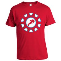 Iron Man T-shirt, Men,  red, m