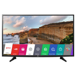 LG 43LH576T 108cm Full HD Smart LED IPS TV,  black, 43