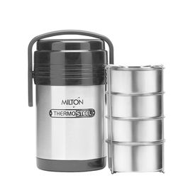 hot meal 4 - Milton - Insulated Steel - Hot Food Tiffin