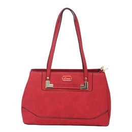 ESBEDA LADIES HANDBAG 18746,  red