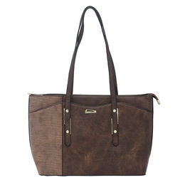 ESBEDA LADIES HANDBAG 18652,  coffee