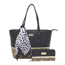 ESBEDA Ladies Handbag G-128,  black