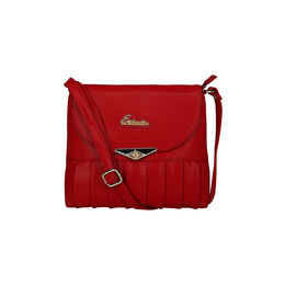 Esbeda Ladies Sling Bag GU160916,  red