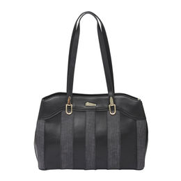 ESBEDA LADIES HANDBAG 18642,  black