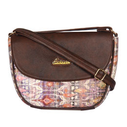 ESBEDA LADIES SLING BAG GR241016,  dark brown
