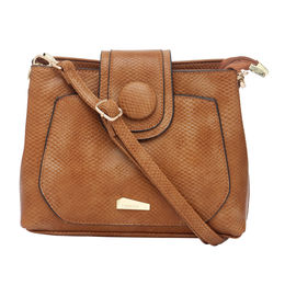 ESBEDA LADIES SLING BAG 160613,  brown