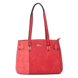 ESBEDA LADIES HANDBAG 18649,  red