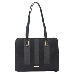 ESBEDA LADIES HANDBAG 18645,  black