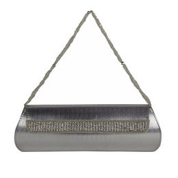 ESBEDA CLUTCH - 8151001,  silver, one size
