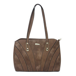 ESBEDA LADIES HANDBAG 18723,  coffee
