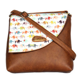 ESBEDA LADIES SLING BAG MS061016,  brown