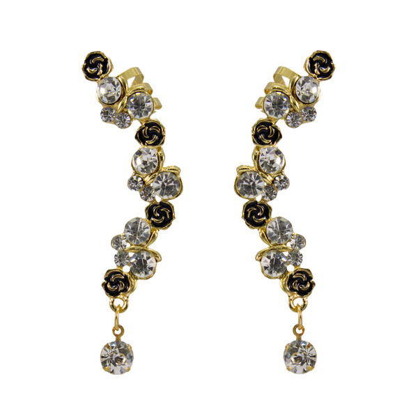 Designer Ear Cuff Embellished With Stones