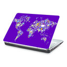 Clublaptop Foodies World -CLS 176 Laptop Skin(For 15.6