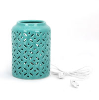 Delight Table Lamp - @home by Nilkamal, Sea Green