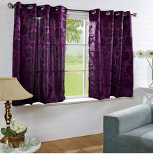 40'x60' Equinox Window Curtain - @home Nilkamal,  purple