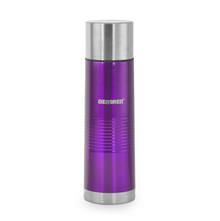 Bergner Stainless Steel Vaccuum Flask with Bag - Purple