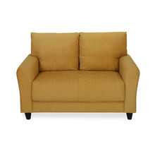 Etios 2 Seater Sofa - @home by Nilkamal, Mustard