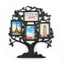 Family Tree Collage Photo Frame - @home by Nilkamal, White