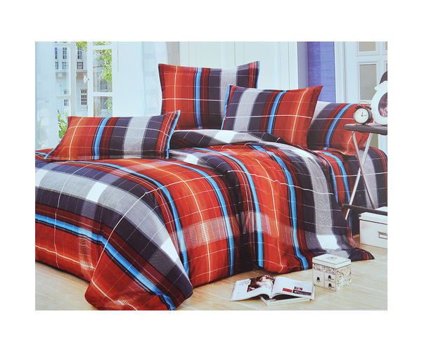 Arcade Fort Bed sheet - @home Nilkamal,  red