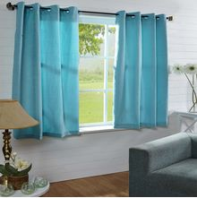44'x60' Moushi Window Curtain - @home Nilkamal,  aqua
