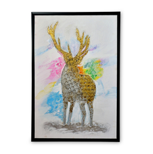 Urban Deer Picture Frame - @home by Nilkamal, Yellow