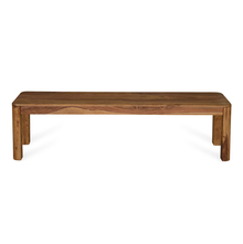 Granada 3 Seater Dining Bench - @home by Nilkamal, Natural Walnut